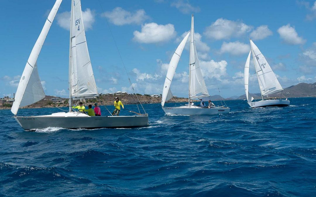 learn how to sailboat race st Thomas