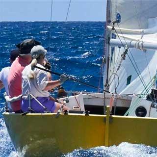 sailboating cruising course