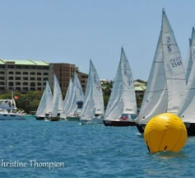 Spring Clinic and Regatta in Paradise