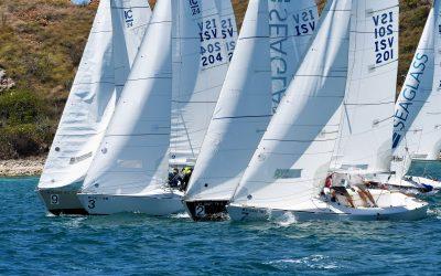 Eight Teams from the USVI, USA & Sweden Set Sail in 2nd St. Thomas Yacht Club Invitational Regatta