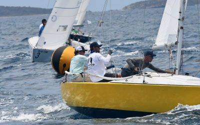 USVI Team Thompson Leads After Day 2 – 2nd St. Thomas Yacht Club Invitational Regatta